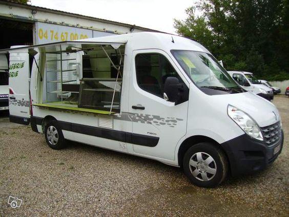 Renault master L2H2 camion magasin boulangerie Utilitaires Rhône - leboncoin.fr