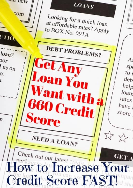 Is A 660 Credit Score Good Credit How To Get Any Loan You Want Credit Score Good Credit What Is Credit Score