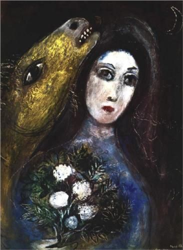 For Vava - Marc Chagall