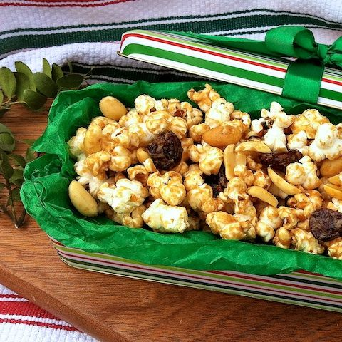 Popcorn Peanut Crunch