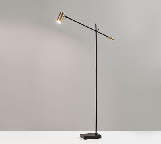 Ridge Led Task Floor Lamp In 2020 Task Floor Lamp Floor Lamp Office Floor Lamps