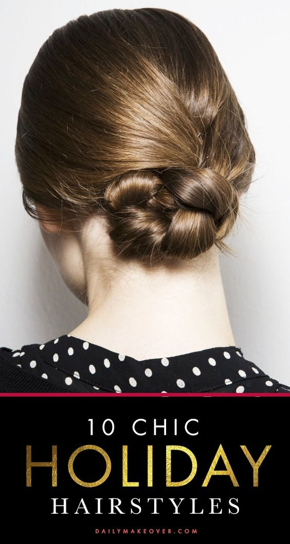 pretty holiday hairstyle ideas
