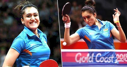 Manika Batra Is The First Indian Female Table Tennis Player To Win A Bronze Medal At Asian Games Table Tennis Player Asian Games Table Tennis