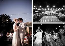 string lights wedding - Google Search