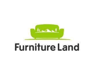 Furniture land logo design animals pinterest logos for Chair logo design