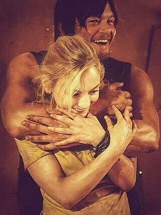 When are we ever going to see Daryl smile like this again?