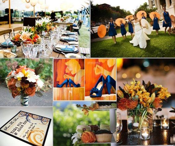 wedding-inspirationboard-blue-and-orange