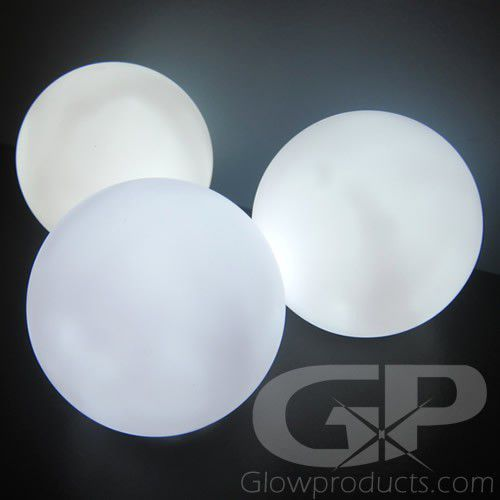 Led Round Ball Lamp With White Light In 2020 Orb Light Ball Lamps White Led Lights