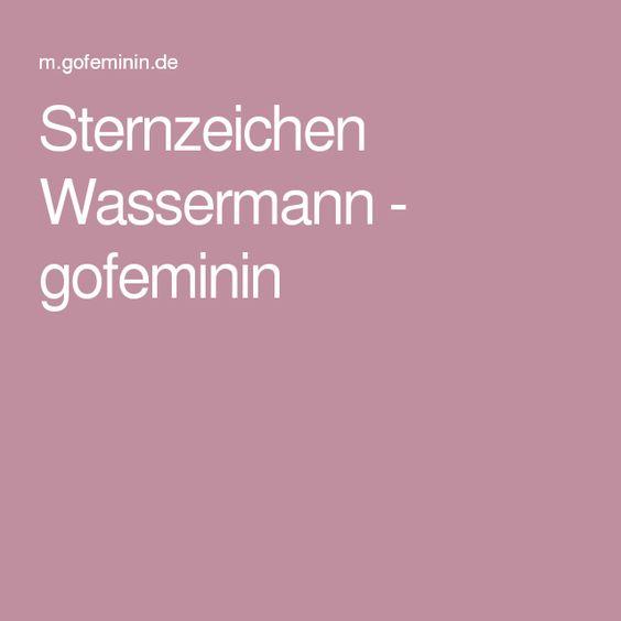 Sternzeichen Wassermann - gofeminin