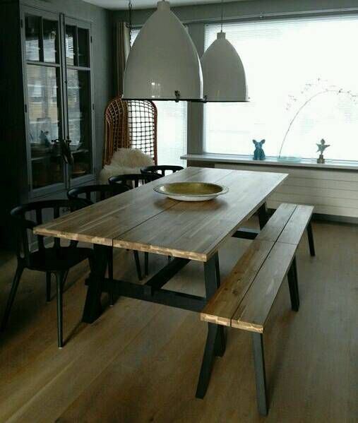 Image Result For Skogsta Ikea With Images Ikea Dining Room Ikea Dining Dining Table With Bench
