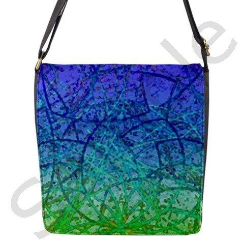 Grunge Art Abstract 1 Flap Closure Messenger Bag #CowCow #Grunge #Art #Abstract #Flap #Closure #Messenger #Bag #painting #digital