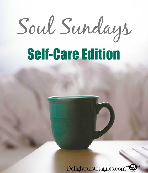 Every Sunday I reflect on how my week has gone and how to improve my week to come. This week It's all about self care. Plus I give some tips on how to create an awesome self care routine. Click the link to  read more! http://delightfulstruggles.com/soul-sundays-self-care-edition/