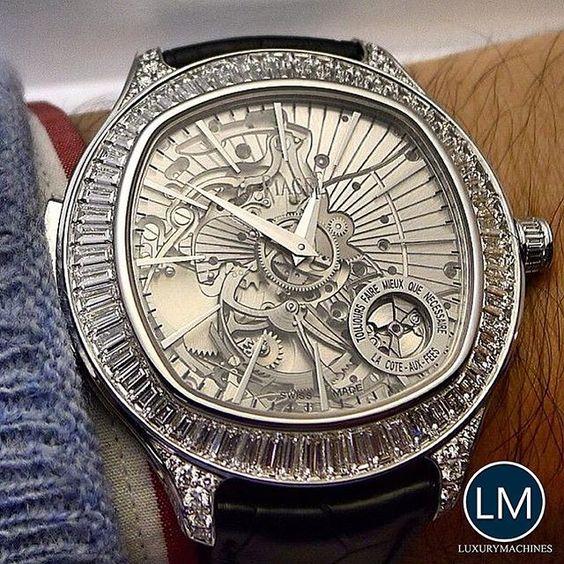 A stunning Piaget Emperador watch.