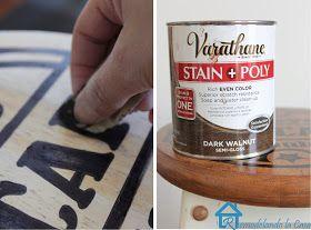 Remodelando la Casa: Painted Kitchen Stools