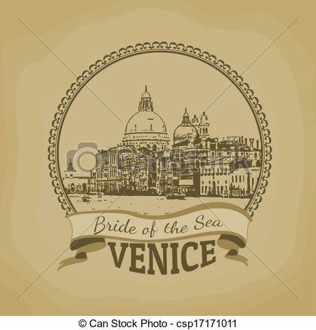 Venecia, (, novia, Sea), cartel - csp17171011