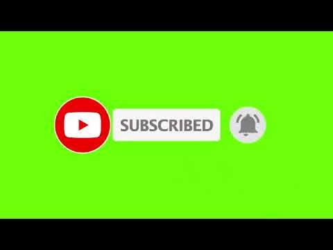Green Screen Subscribe Button Youtube Youtube Banner Backgrounds Youtube Logo First Youtube Video Ideas