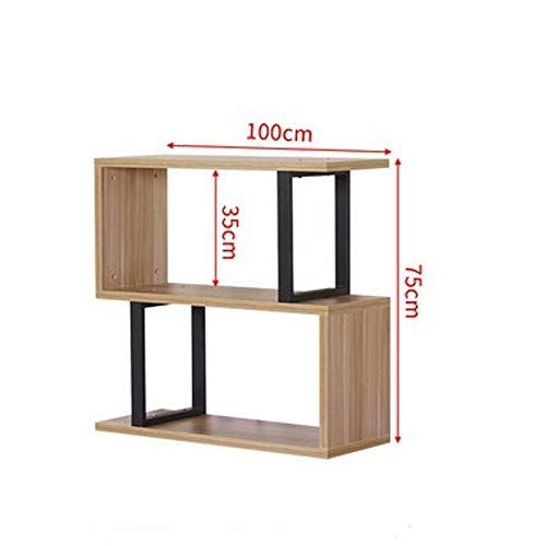 Bai Su Bs Bookshelf Modern Minimalist Bookcase Display Cabinet Living Room Partition Cabinet Fl Minimalist Bookcase Solid Wood Shelves Bedroom Wall Hangings