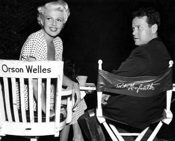 Rita Hayworth & Orson Welles