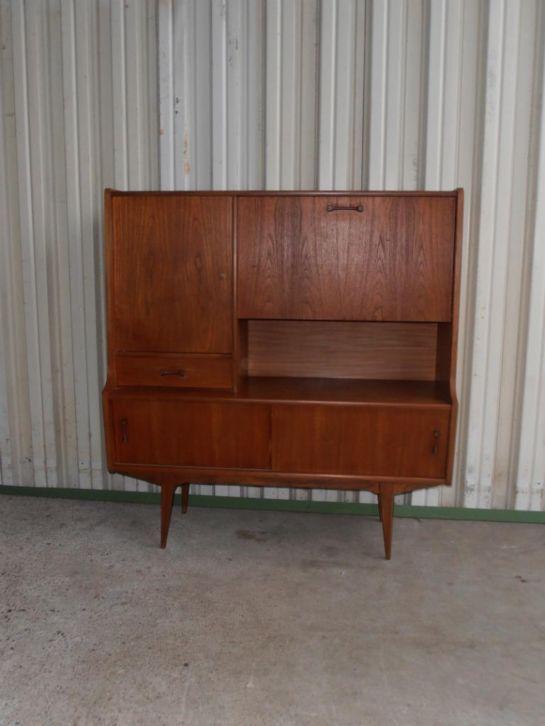 vintage wandmeubel kast