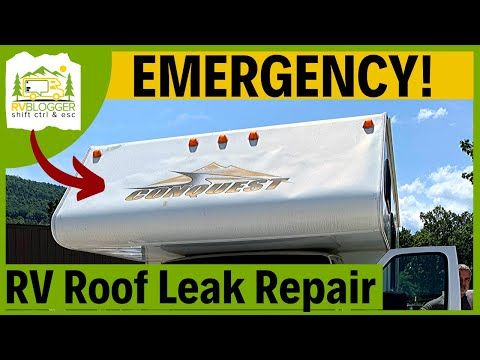 Can I Use Flex Seal On My Rv Roof Rvblogger In 2020 Rv Roof Repair Rv Roof Leak Repair