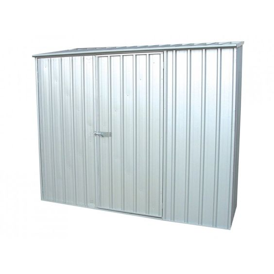 Absco Spacesaver Shed Za23151sk 2 26mw X 1 52md X 2 08mh Home Essence Metal Shed Garden Storage Shed