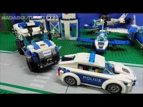 All Lego City Sky Police Vehicles