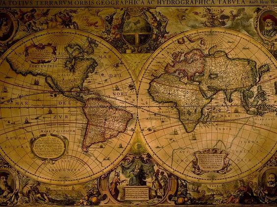 Old Treasure Map Wallpaper Pirate Treasure Map Ba...