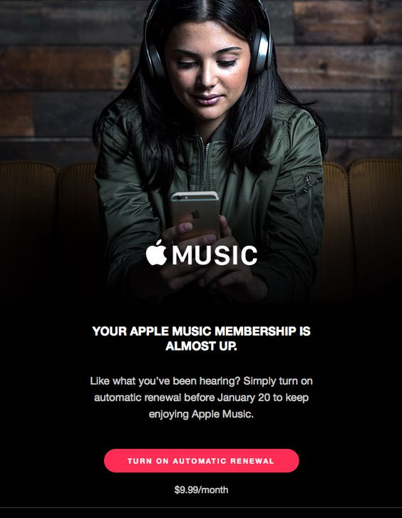 apple-music-behavioral-email-marketing-example