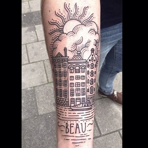 Ladies of the trade tattoos pinterest dame for Tattoo amsterdam walk in