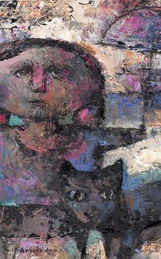 """Saatchi Art Artist Arnaudon Art; Painting, """"El paseo"""" #art"""
