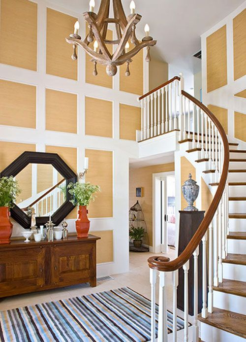 Foyer Ceiling Wall : Tall walls various decorating tips for you story