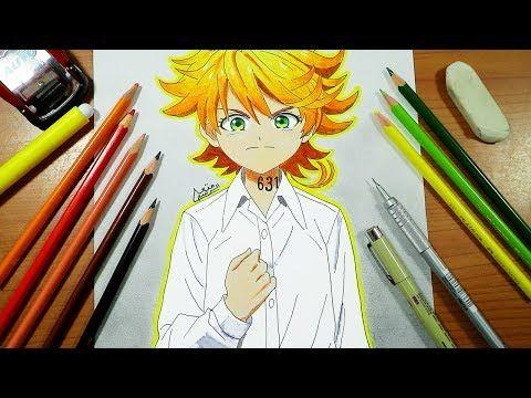 رسم ايما من انمي نيفرلاند الموعودة تعلم رسم انمي خطوة بخطوة مثل المحترفين Youtube Art Anime Anime Art