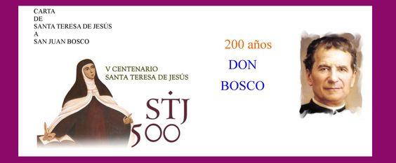 Carta de Teresa de Jesús a Juan Bosco