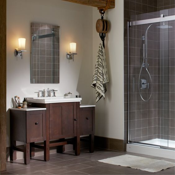 Bold Ideas from Kohler  24 VanityBathroom FurnitureBathroom. Bold Ideas from Kohler   Bathroom Remodel   Pinterest   Ideas