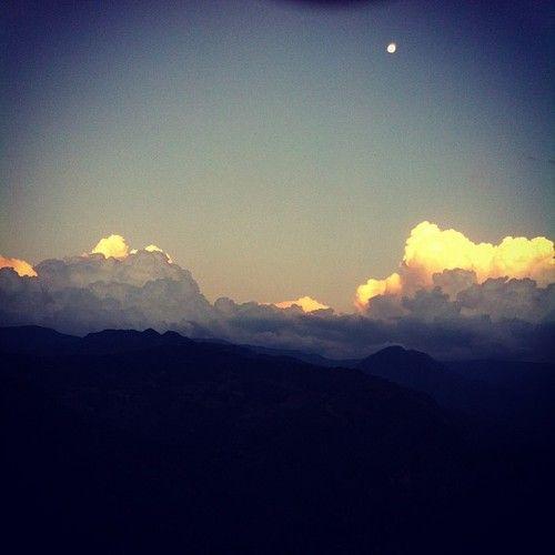 nubes Sierra, Oaxaca