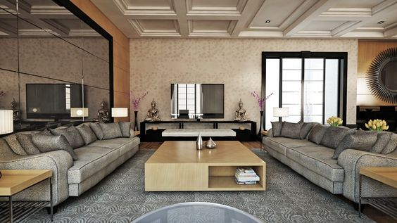 Fascinating Living Space Royally Mixing Design Styles in Ankara - design ideen fur wohnungseinrichtung belgrad aleksandar savikin