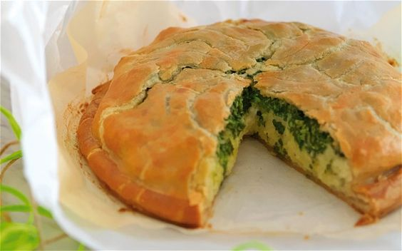 Christmas 2012: Potato, watercress and blue Stichelton cheese galette ...