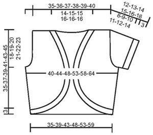 Gypsy Ballad - DROPS Einfache Bolerojacke in �Alpaca� - Free pattern by DROPS Design