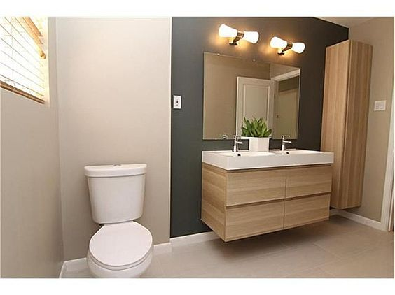 Godmorgon ikea mur gris plus clair meuble bois for Vanite salle de bain ikea