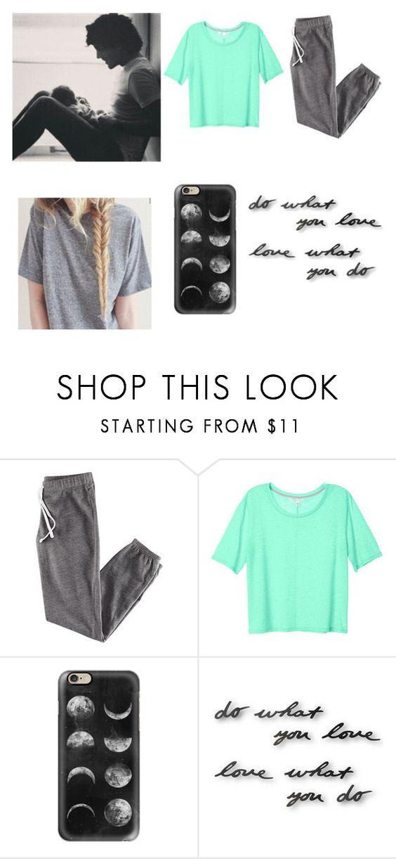 """""""Babysitting with Louis"""" by rossandharry ❤ liked on Polyvore featuring H&M, Casetify and Umbra"""