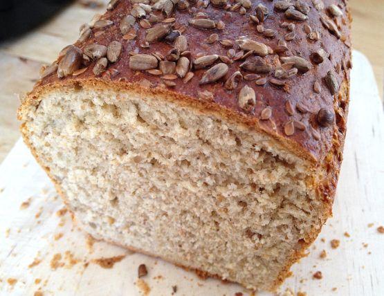 Pan integral con centeno, semillas de lino y de girasol