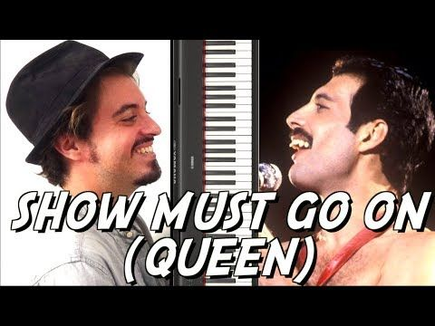 Show Must Go On Queen Tuto Piano Facile Youtube Piano Piano Tabs Keyboard Lessons
