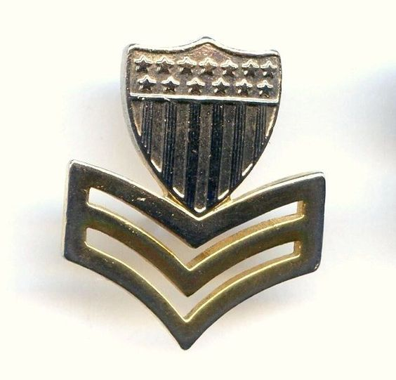 Vtg USCG Coast Guard Petty Officer First Class Insignia Rank Badge Pin by Krew