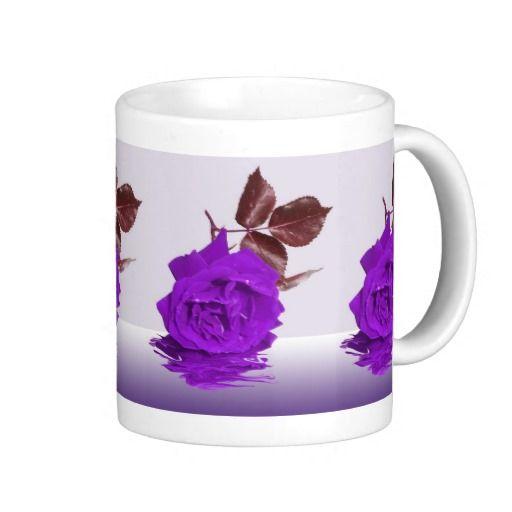 Purple Rose  Mug