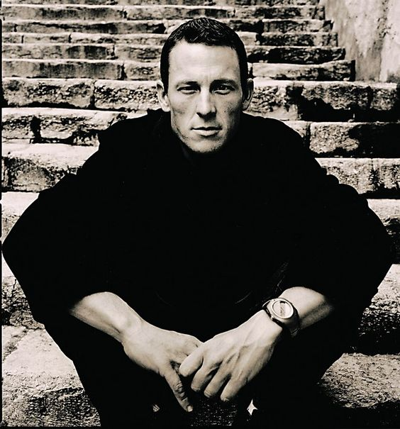 Lance Armstrong by Anton Corbijn, photographer