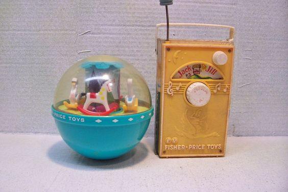 Vintage Pre-school Toys, Fischer-Price (E)