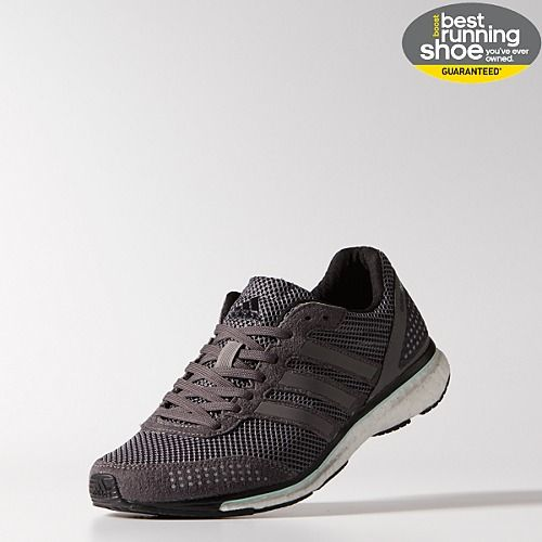 Adidas Adizero Adios Boost 20 GraniteBlackWhite Running Shoes For Women
