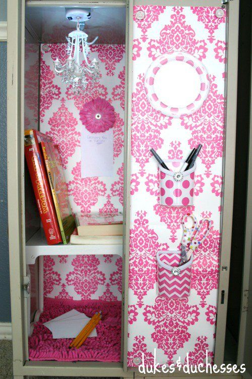 locker decorating ideas - photo #24