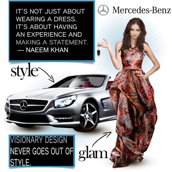 Naeem Khan - Mercedes Benz, created by adorablet on Polyvore