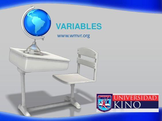 variables-5325498 by wenceslao verdugo via Slideshare